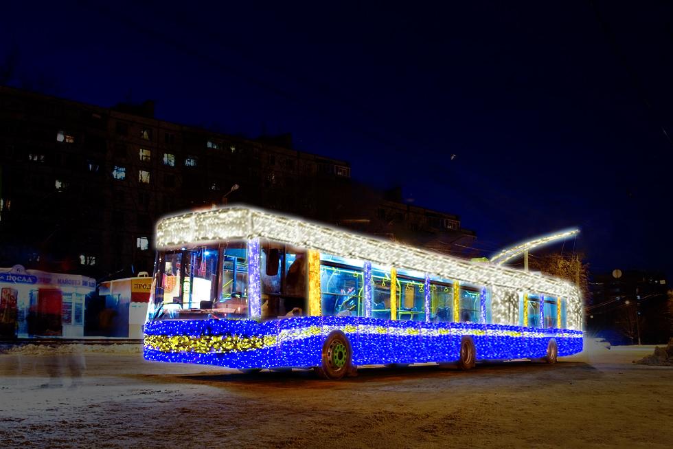 У Вінниці в ніч на Різдво громадський транспорт працюватиме довше