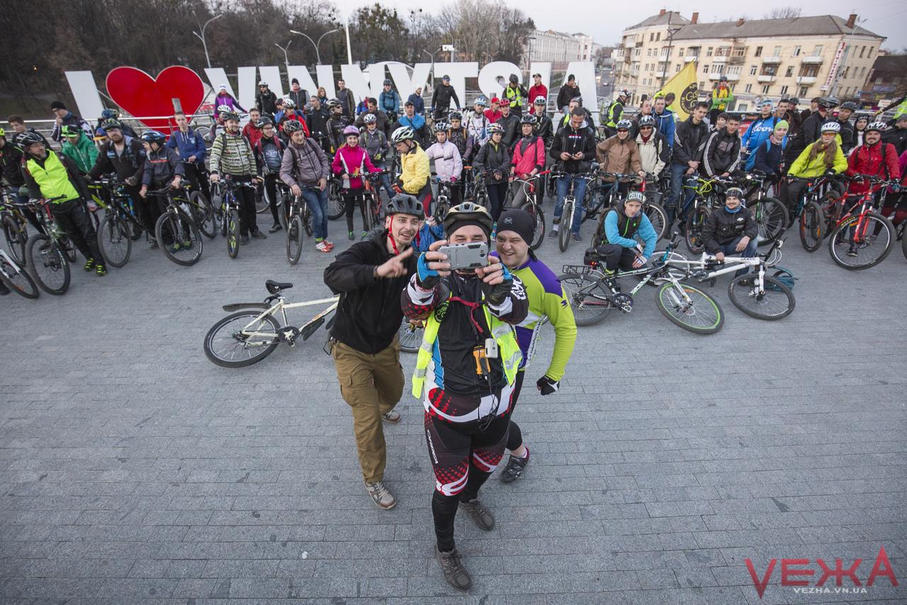 «Велика Весняна Викатка»: у Вінниці розпочинається новий велосезон