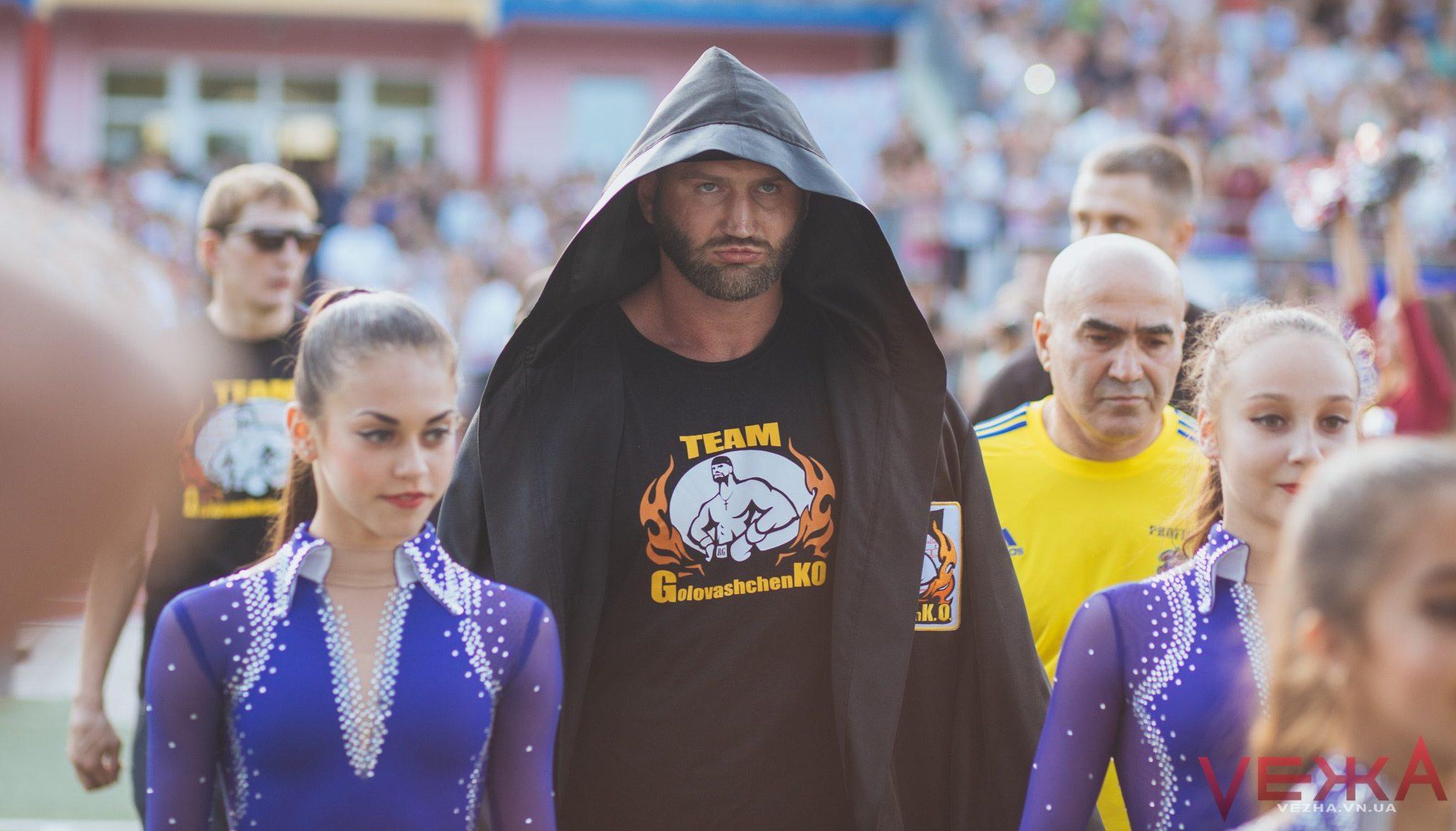 Вінницький чемпіон Головащенко влаштує онлайн-конференцію перед титульним боєм