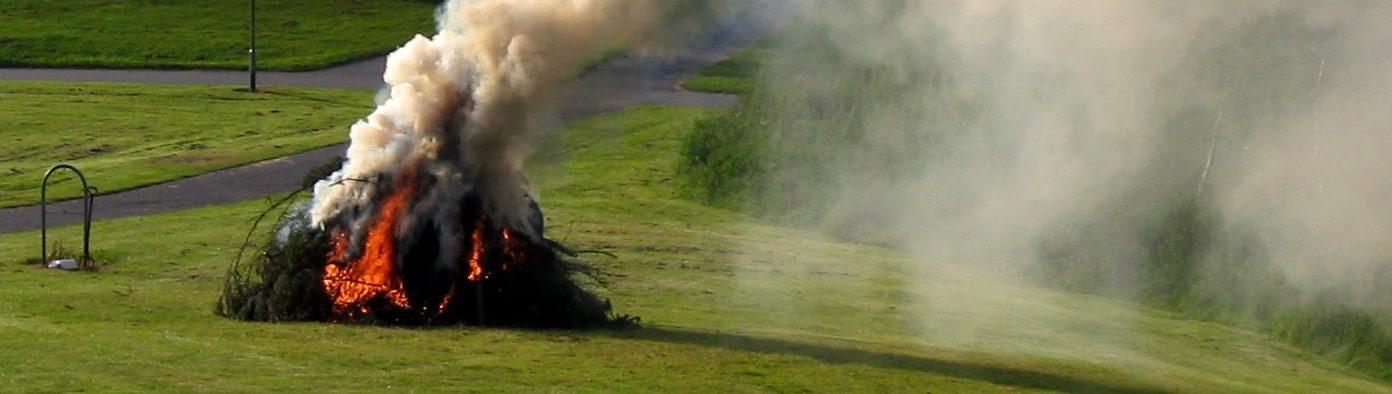 Майже 1,5 тисячі штрафу загрожує вінничанам за спалювання листя та сміття: починаються рейди