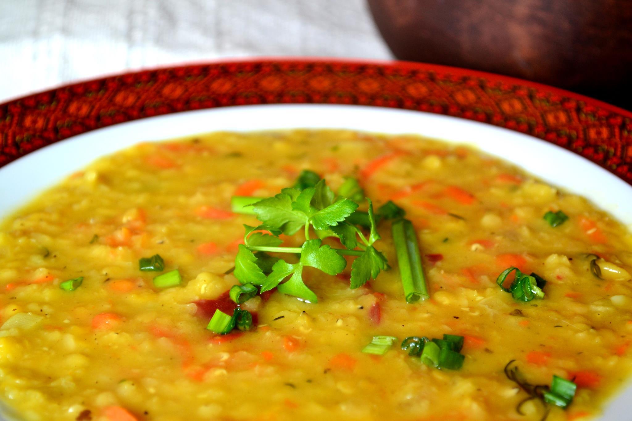 Пісний суп з «червоного чину»