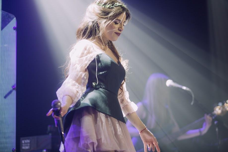 Лемківська «принцеса» Христина Соловій презентує у Вінниці перший альбом «Жива вода»