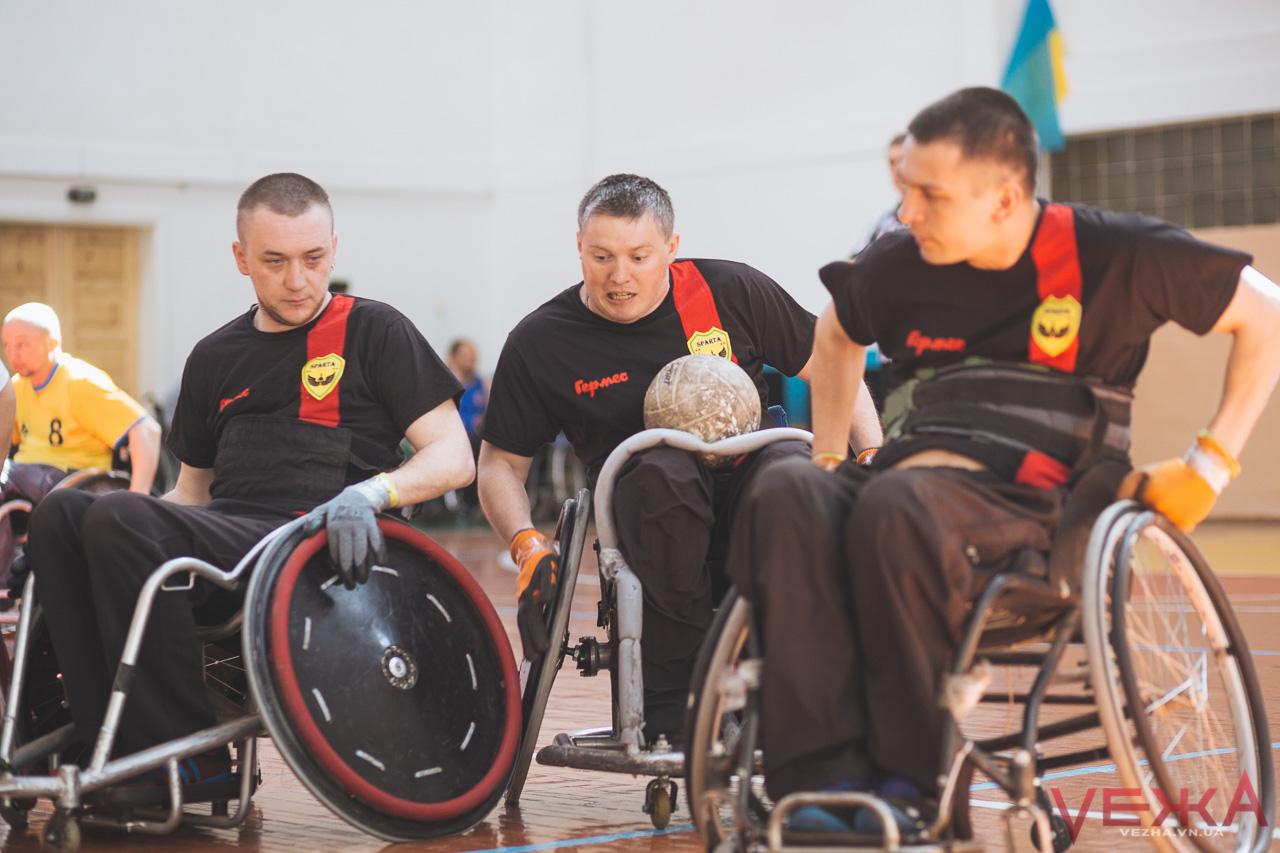 У Вінниці відбудеться відкритий чемпіонат із регбі на візках