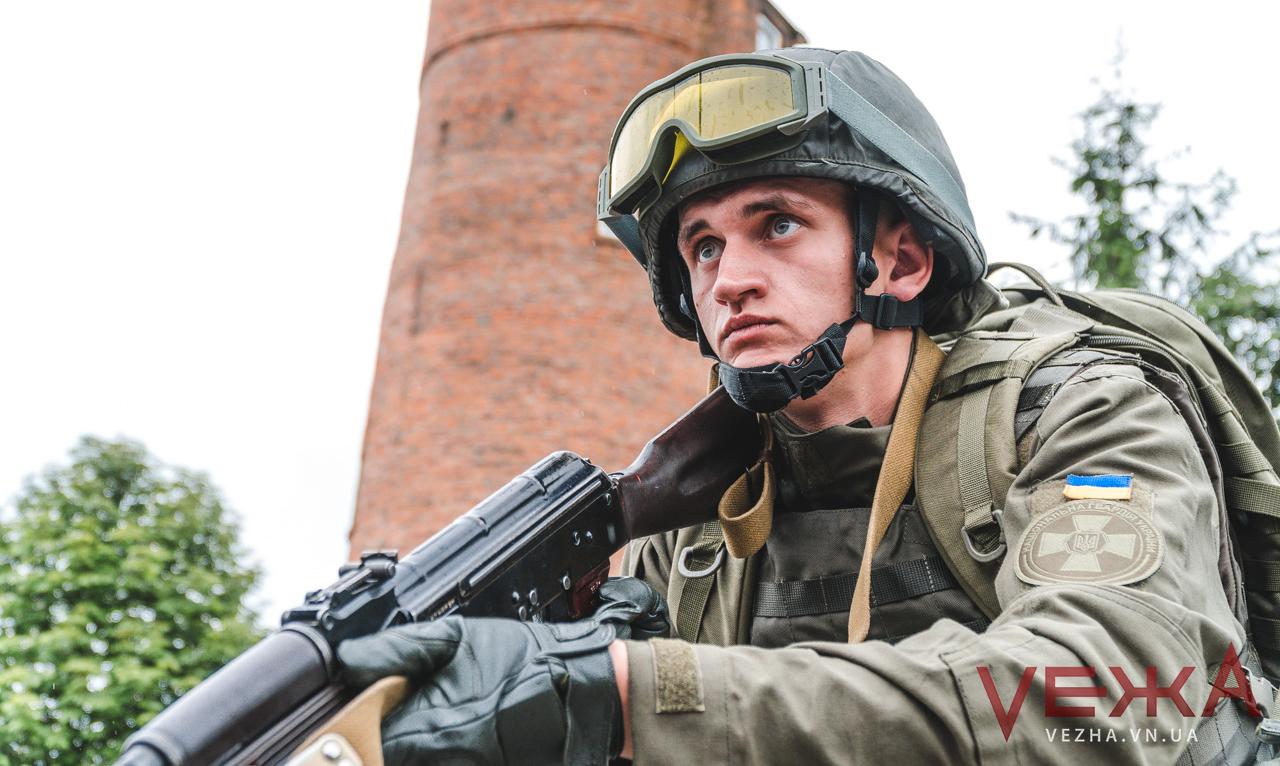 """""""Нацгвардійці"""" пройдуть урочистою ходою центром Вінниці та відкриють виставку військової техніки"""