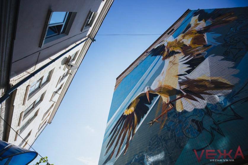 Будинки Вінниці розмалюють муралами: триває прийом заявок на резиденцію «VIN-ART-CITY»