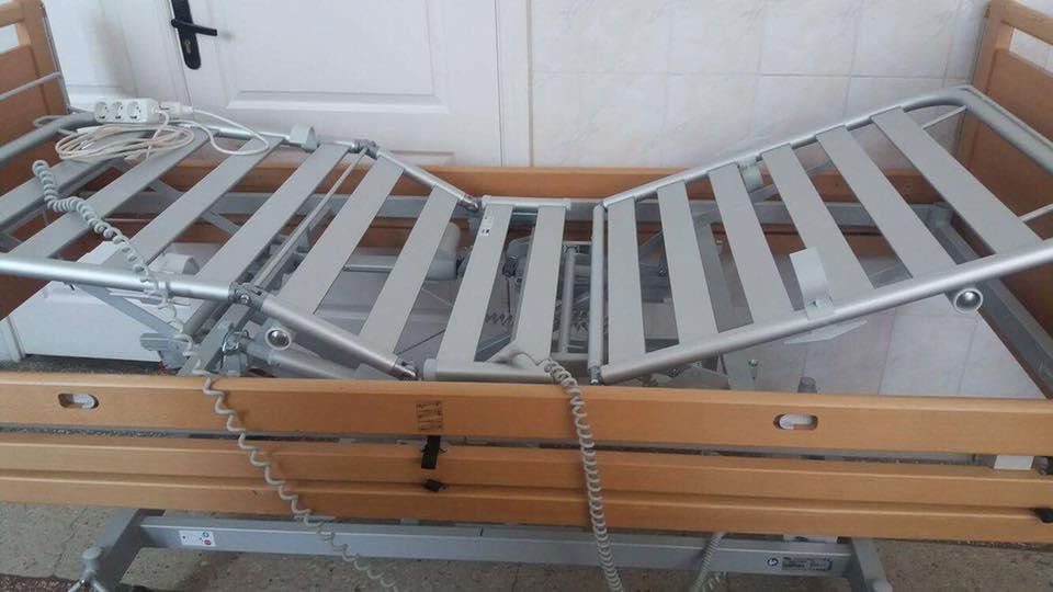 «Пироговка» отримала гуманітарну допомогу з-за кордону ліжками та ходунками