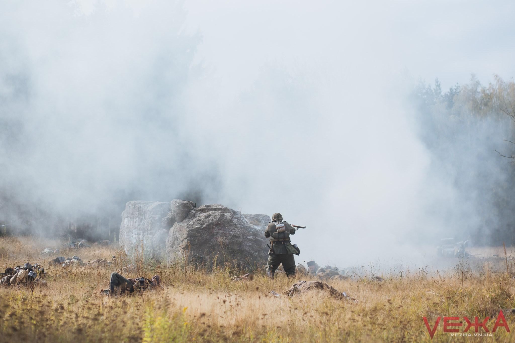 Відтворити картину війни: під Вінницею на «Вервольфі» УПА битиме «червоних» та німецьку десантуру