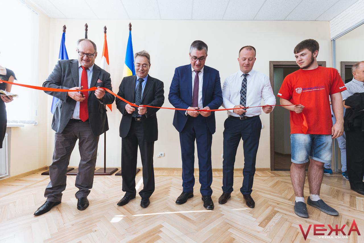 У Вінниці за півмільйона відкрили офіси з інтегрованого та просторового розвитку міста