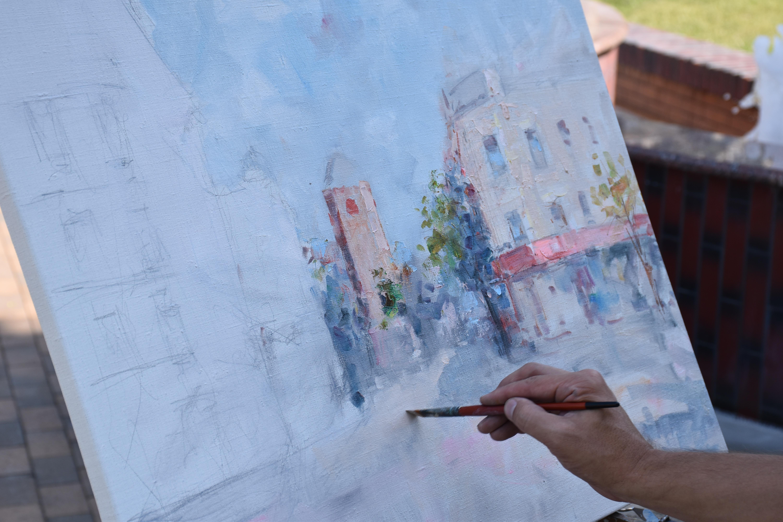 12 художників з п'яти міст намалюють 60 картин Вінниці за 5 днів