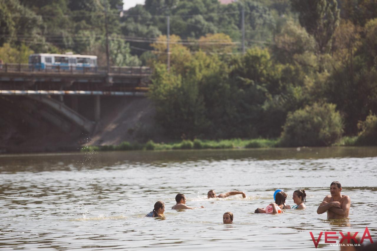 Краще не купатись: вінницькі пляжі знову потрапили до переліку небезпечних для здоров'я