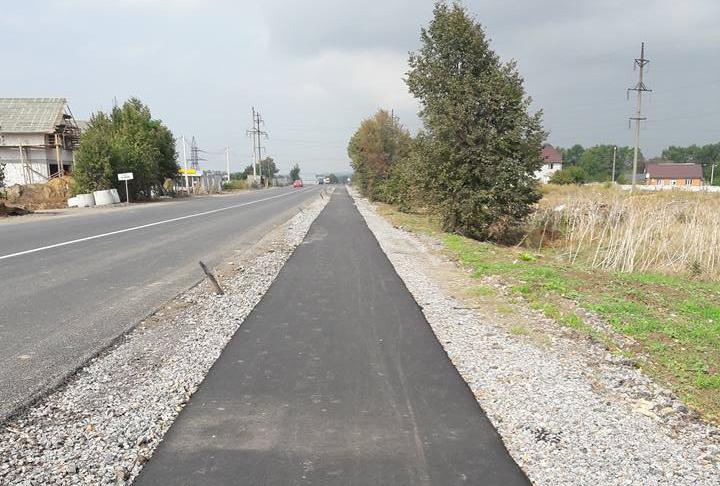 У Вінниці будують велодоріжку від Барського до Гніванського шосе. ФОТО