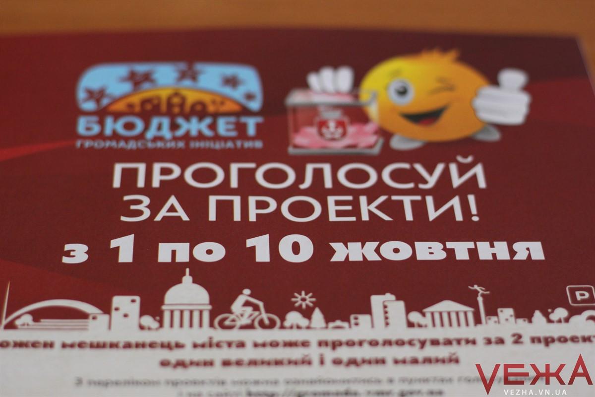 """Фальсифікаціям – """"Ні!"""": Вінниця витратить 7 мільйонів на ініціативи городян та захистить систему голосування"""