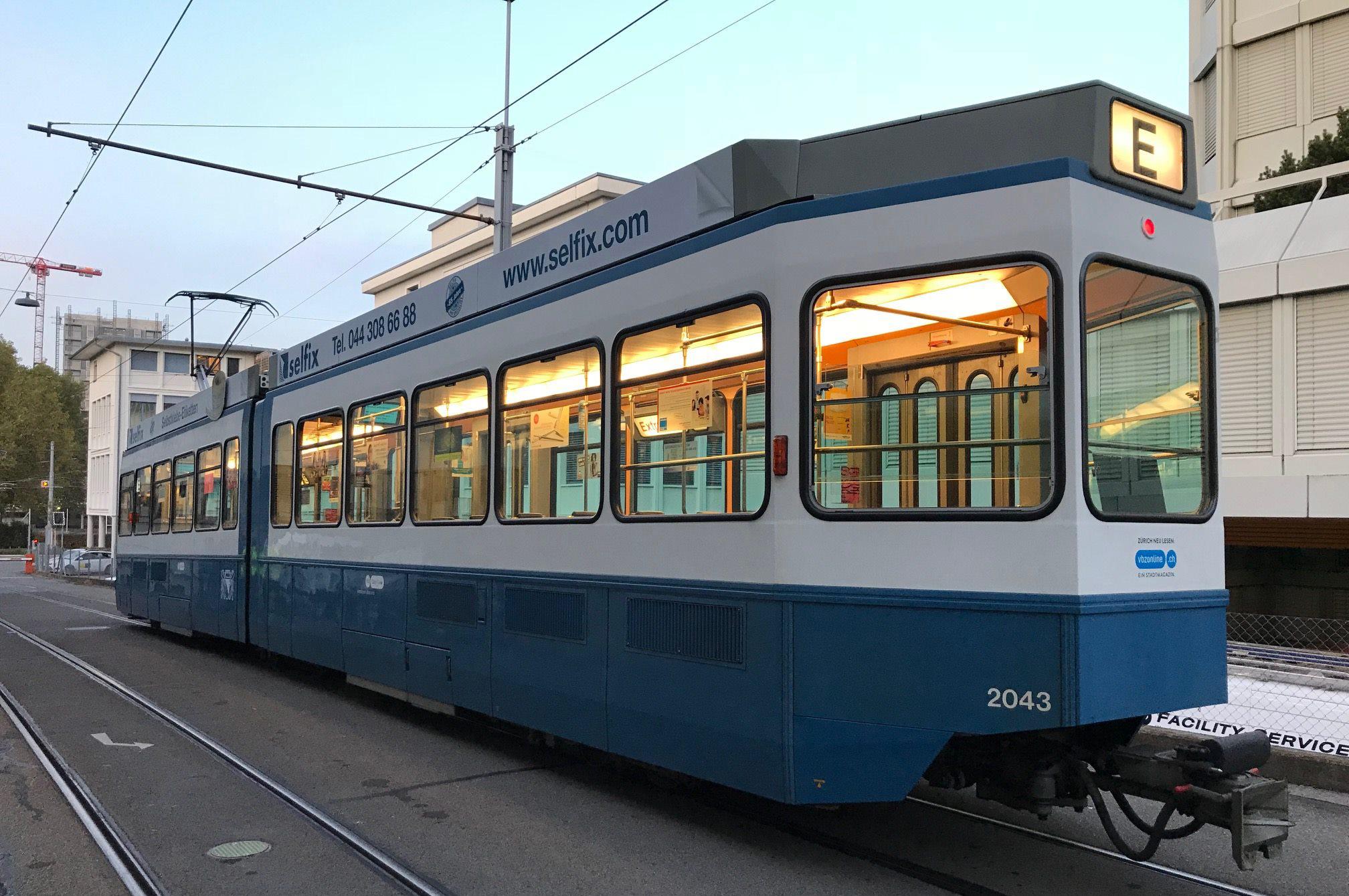 У Вінниці можуть з'явитися нові швейцарські трамваї з 2021-го року. ФОТО