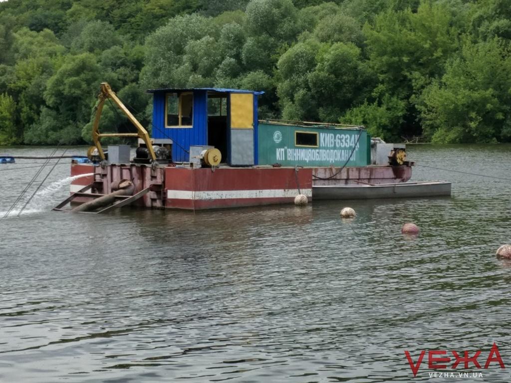 На Вінниччині розчистять земснарядом 900 метрів притоки Південного Бугу