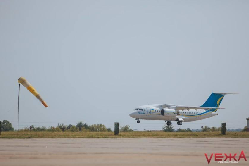 Вінницький аеропорт у 2017 році перевіз близько 50 тисяч пасажирів