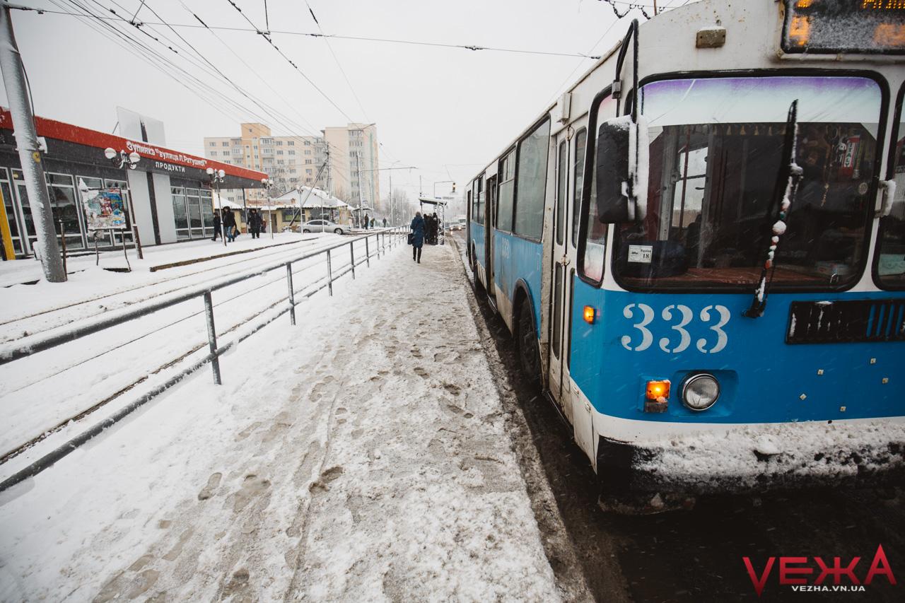 У Вінниці буде 4 святкових дні з безкоштовним проїздом