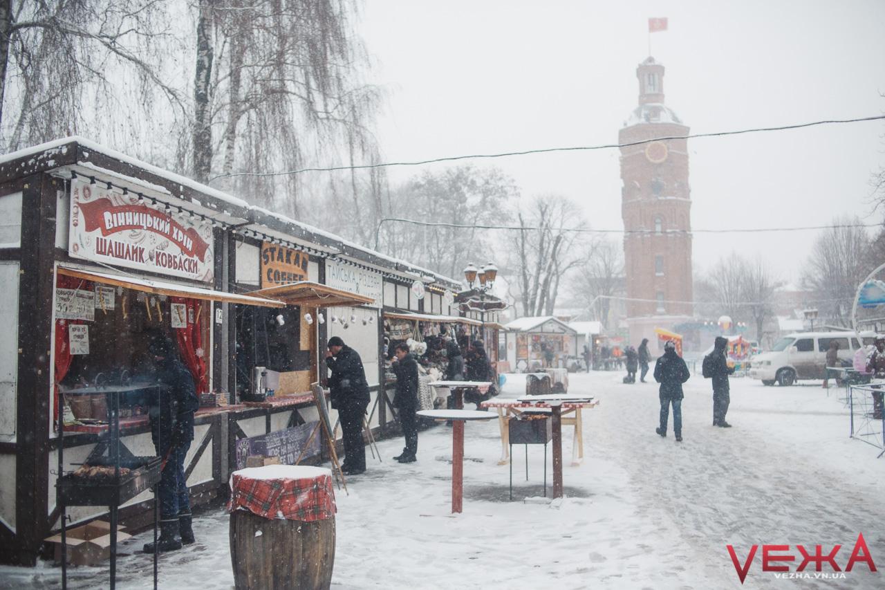 За два тижні у центрі Вінниці запрацює Різдвяний ярмарок