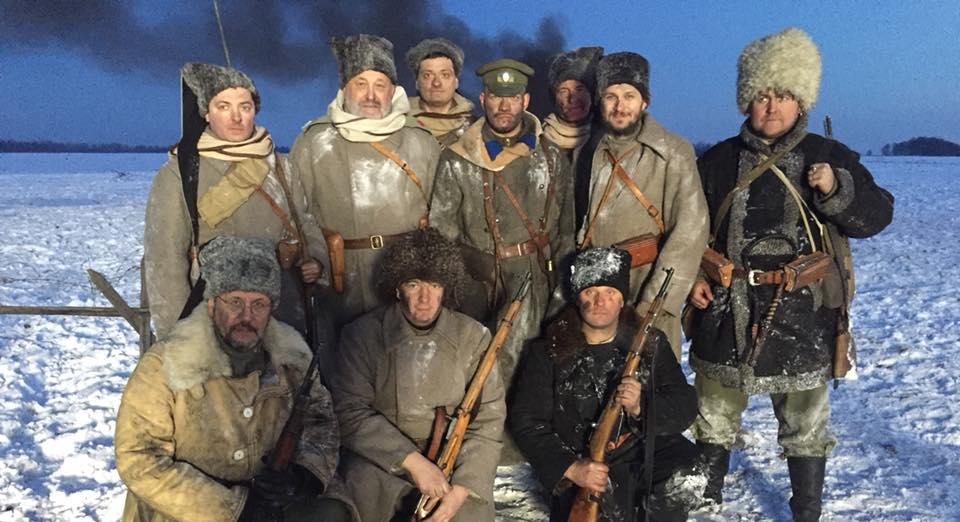 Вінницькі реконструктори знялися у новому історичному екшні про Крути. ФОТО, ВІДЕО