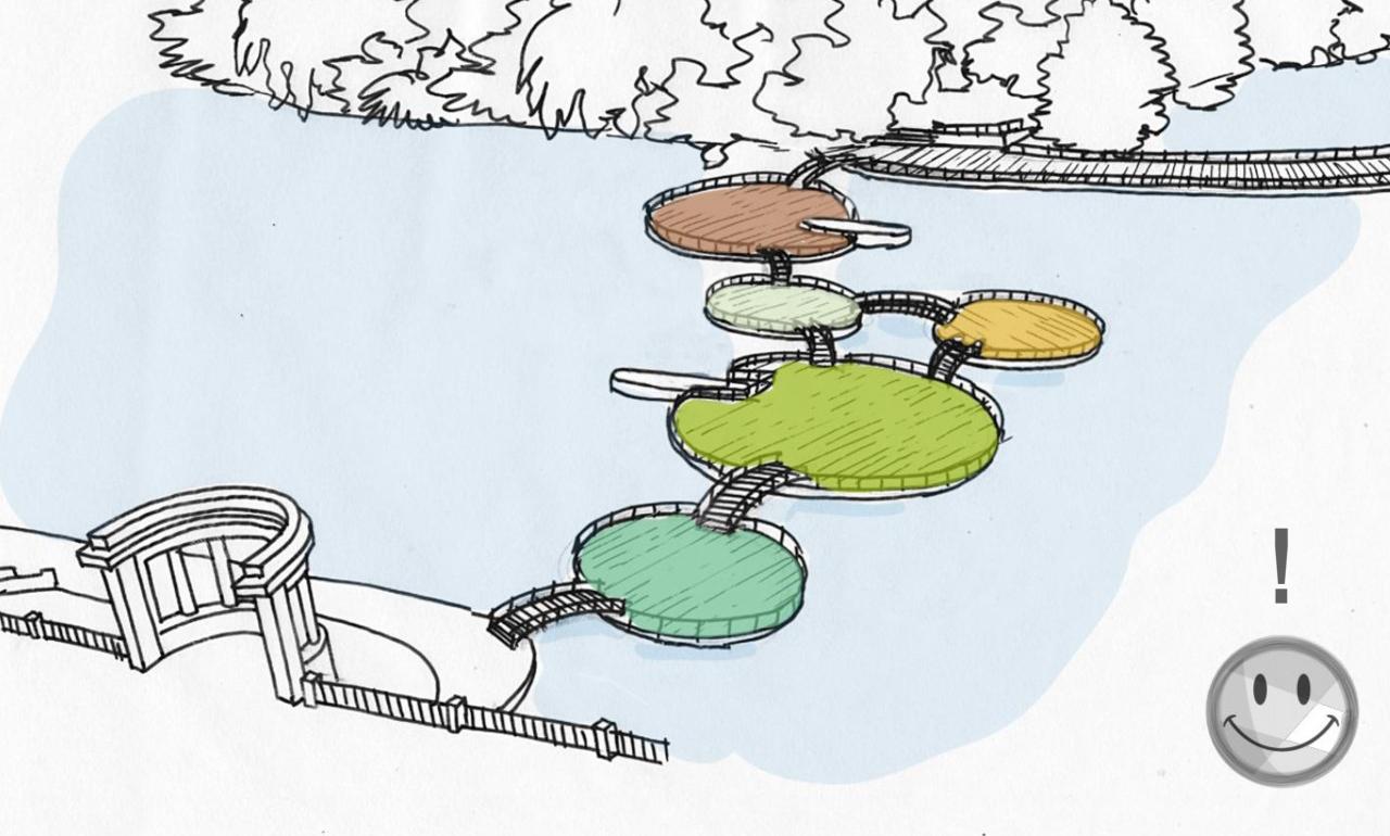 """Вінницькі острови, інтерактивний """"Щедрик"""" та Яблука Коцюбинського: архітектори й митці пропонують 30+1 ідею для Вінниці. ГРАФІКА"""