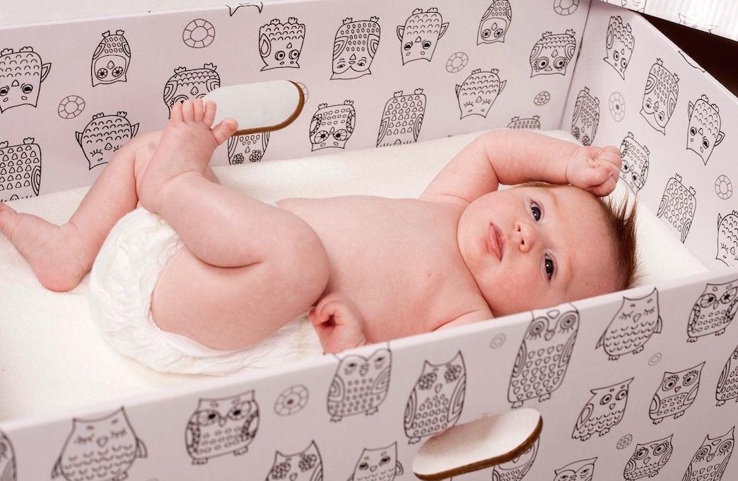 Коробка життя: у Вінниці пропонують втілити фінський проект для допомоги новонародженим