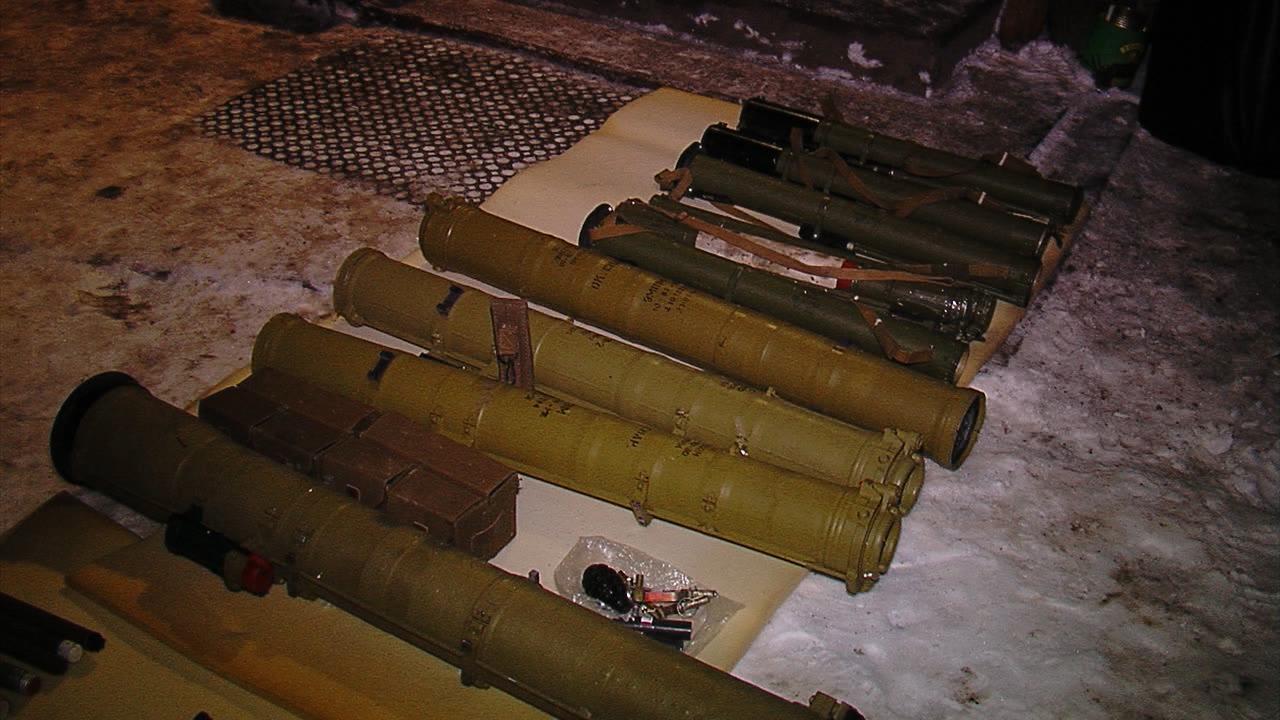 У хаті на Вінниччині виявили збройний арсенал з протитанковими гранатометами. ФОТО, ВІДЕО