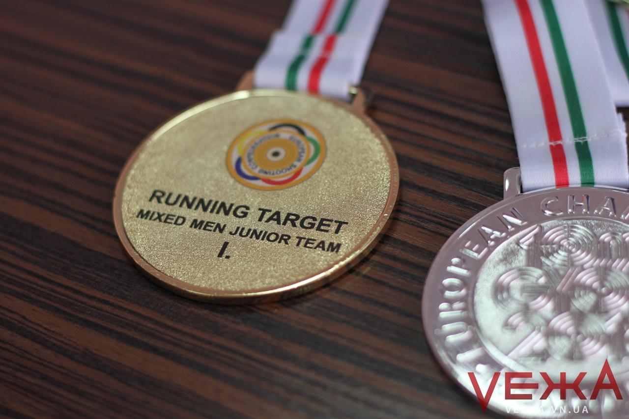 5 золотих, 6 срібних та одна бронзова: вінничани здобули 12 медалей на Чемпіонаті Європи зі стрільби. ФОТО