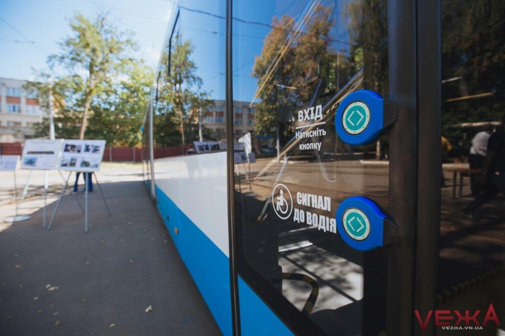 Вінницькі транспортники створили графік руху тролейбусів, облаштованих для людей з інвалідністю