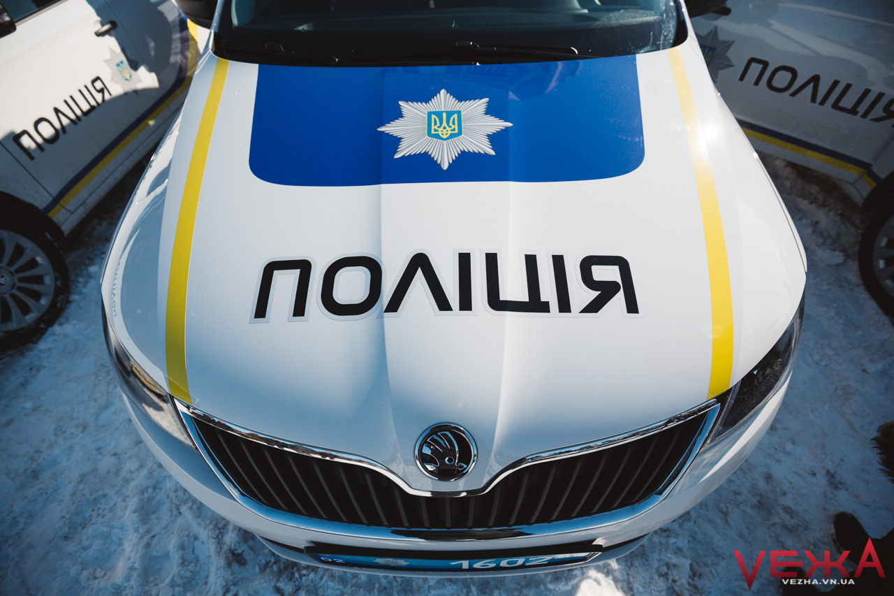 Поліція Вінниччини отримала понад два десятки нових іномарок та автозак за вісім мільйонів. ФОТОРЕПОРТАЖ