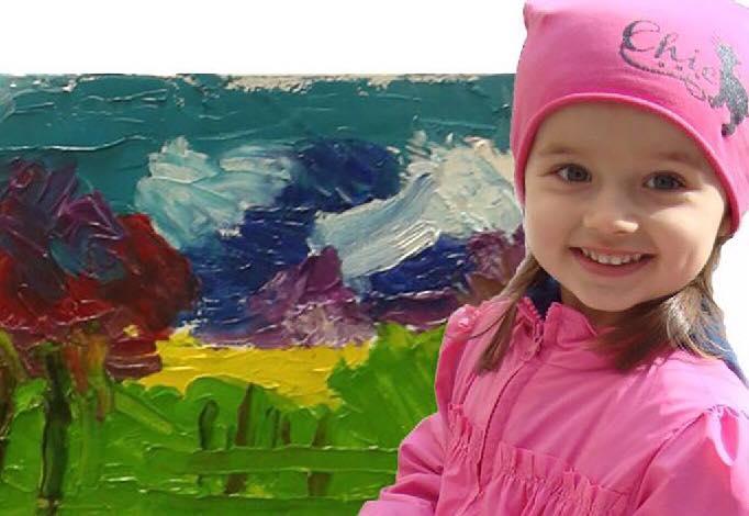 У Вінниці відбудеться виставка творів наймолодшої художниці країни