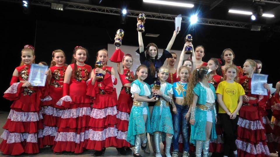 Вінницькі танцівниці привезли 90 нагород та гран-прі з фестивалю «Inter Galactic». ФОТО