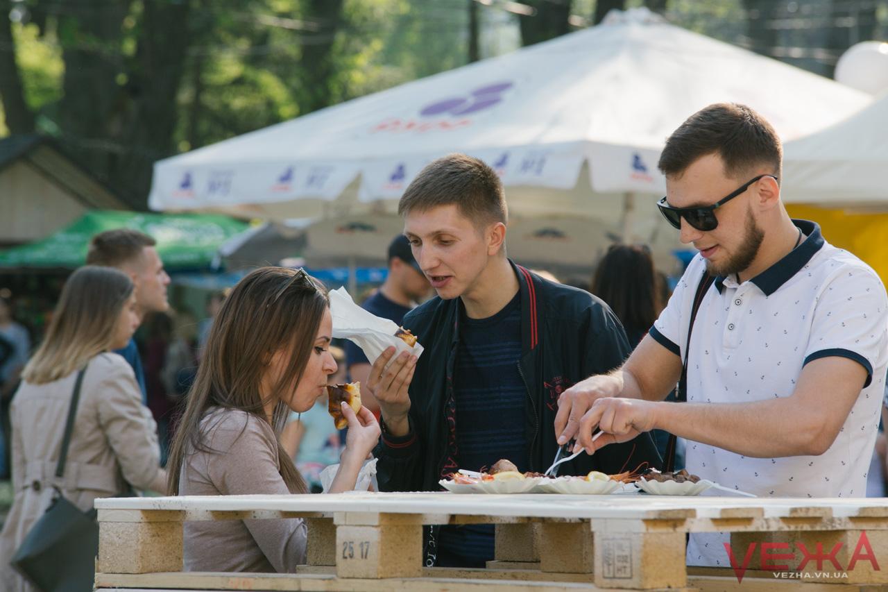 Призи глядацьких симпатій: що «зацінили» вінничани на Vinnytsia Food Fest. ФОТОРЕПОРТАЖ