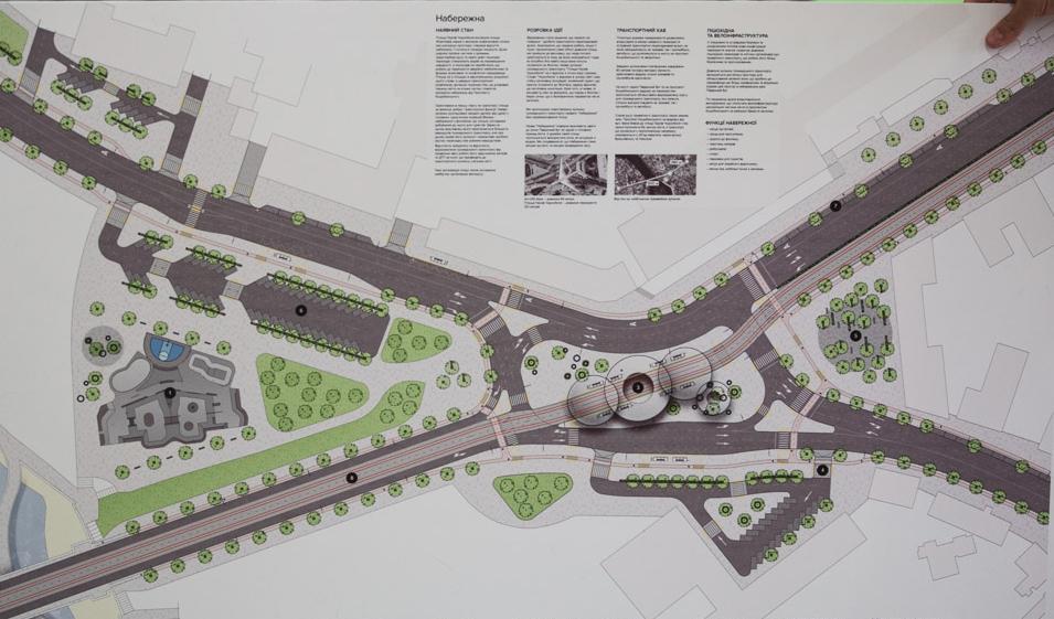 Деталі ідей реконструкції проспекту Коцюбинського приховали від журналістів