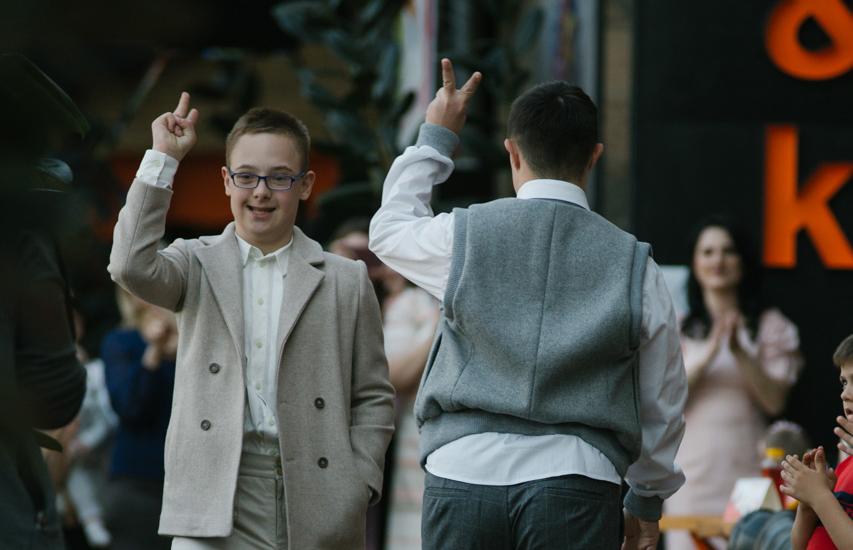 У Вінниці діти з синдромом Дауна взяли участь у показі мод. ФОТОРЕПОРТАЖ