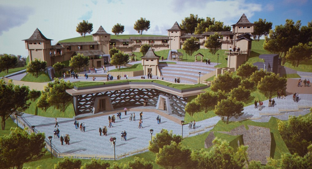 Яким може бути «Вінницький замок»: презентовано концепцію історико-туристичного комплексу. ГРАФІКА