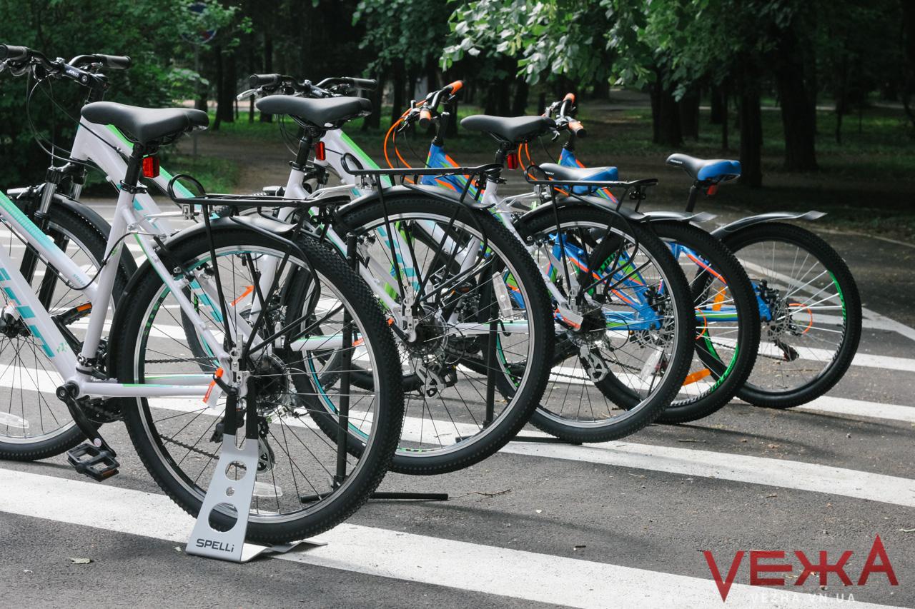 У Вінниці відкрили муніципальну велошколу. ФОТОРЕПОРТАЖ