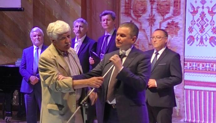 У вінницькій філармонії лунали антисемітські заклики. ВІДЕО