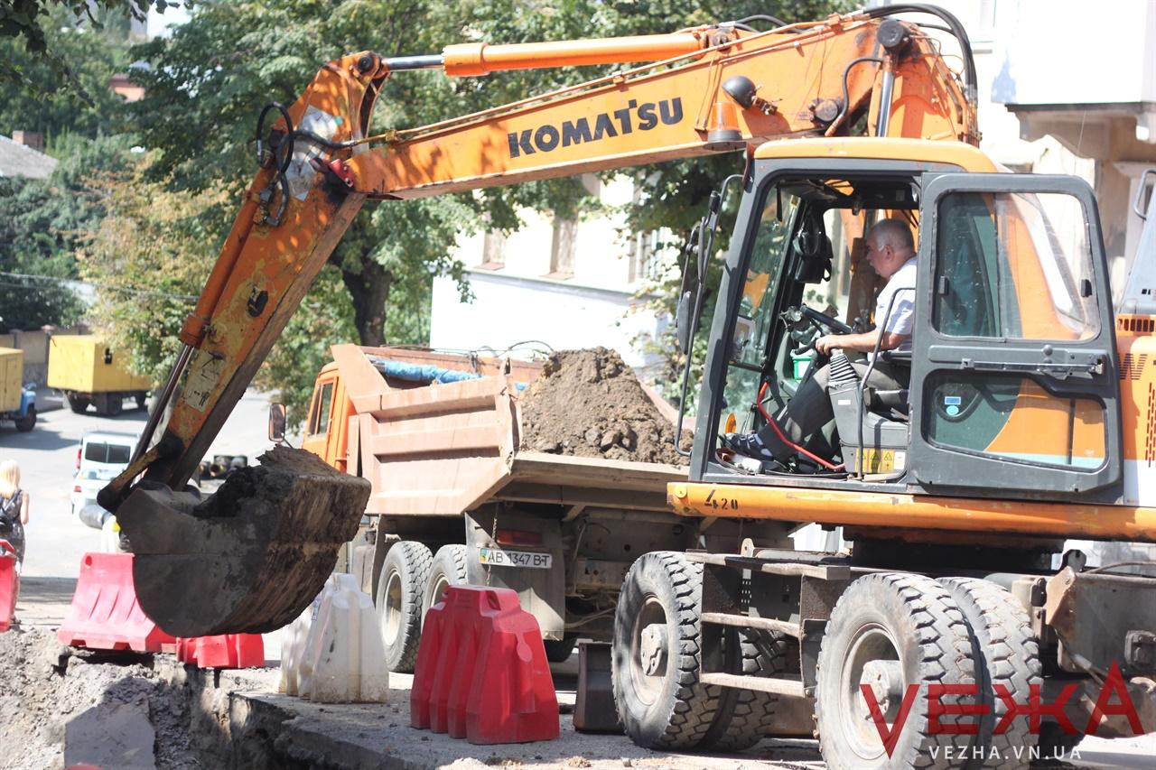 У Вінниці завершують частину робіт з реконструкції тепломереж та готуються до опалювального сезону. ФОТО