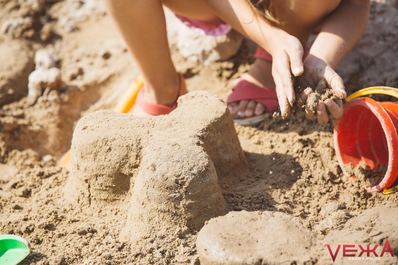 У Вінниці на пляжі влаштують фестиваль піщаних скульптур