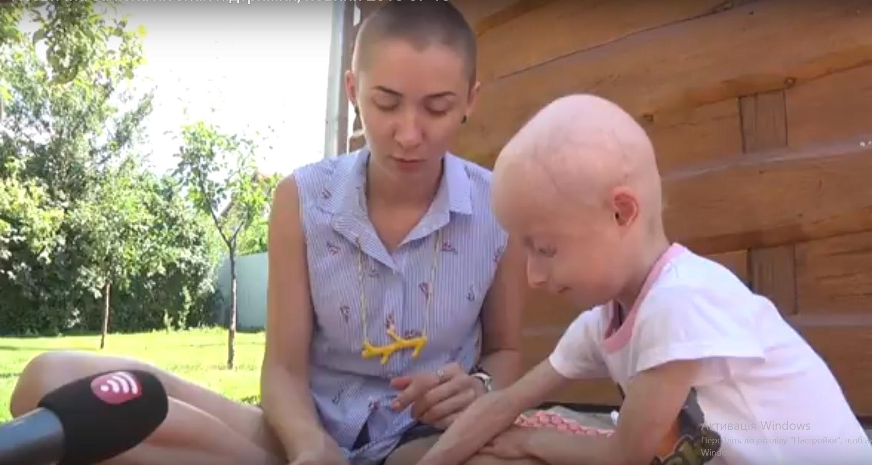Волонтерка підстриглась «під нуль», аби підтримати 7-річну вінничанку з рідкісним захворюванням. ВІДЕО