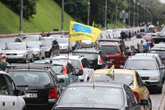 """Всеукраїнський протест на Вінниччині: завтра """"євробляхи"""" перекриють чотири траси. ПЕРЕЛІК МІСЦЬ"""