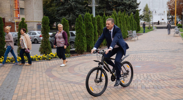 Для працівників вінницької міської ради та велошколи передадуть 48 велосипедів
