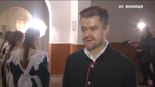 У Вінниці тривають зйомки документальної стрічки про Леонтовича. ВІДЕО