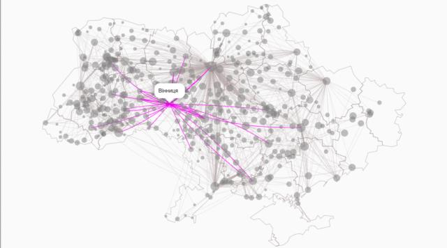 З'явилася інтерактивна мапа автобусних маршрутів