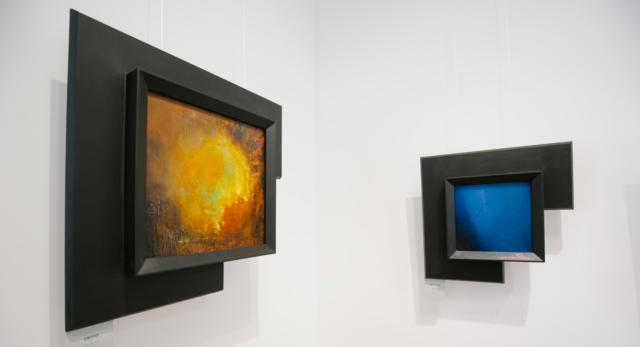 Гра світла та кольорів: у Вінниці відомий український художник вперше презентував свої картини. ФОТОРЕПОРТАЖ