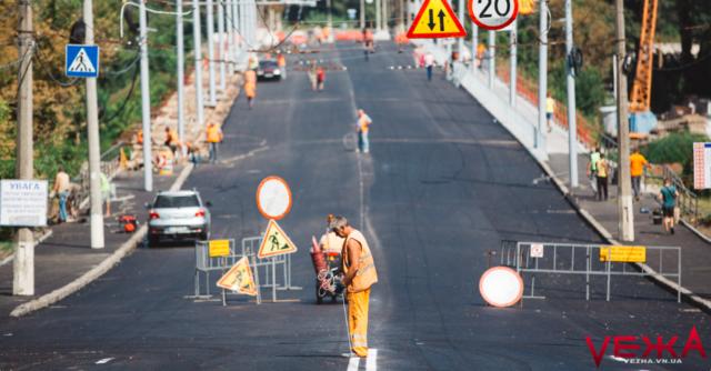 Вінницька міськрада судиться за незавершений вчасно ремонт Київського мосту