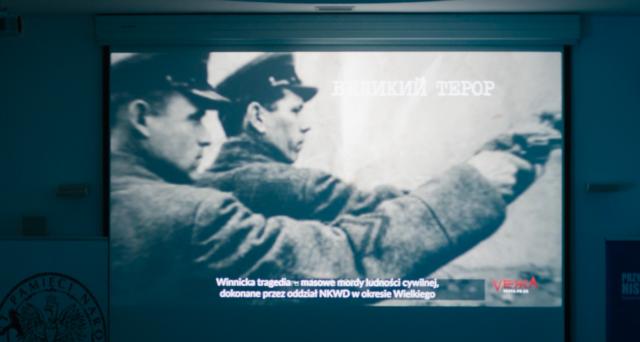 """У Варшаві презентували серію короткометражних фільмів про """"Вінницьку трагедію"""". ФОТО, ВІДЕО"""