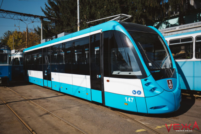 На два тижні призупиняють рух трамваїв до залізничного вокзалу