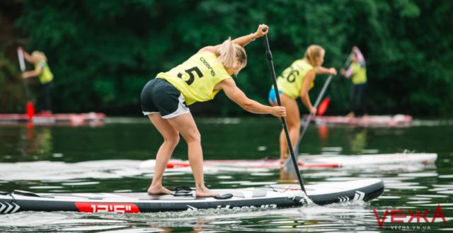 У Вінниці вперше відбулися змагання із SUP-серфінгу. ФОТОРЕПОРТАЖ