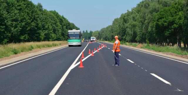 На Вінниччині завершили ремонт ділянки міжнародного шосе. ФОТО