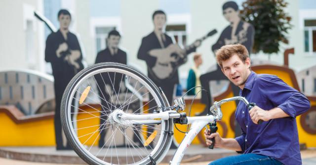 """Велосипедом на роботу: у Вінниці набирає обертів """"ВелоСлужбовець"""" челендж. ФОТО"""